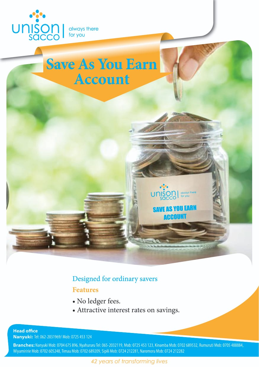 Save as you Earn